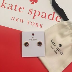 "♠️ NWT KATE SPADE ""spot the spade"" earrings"